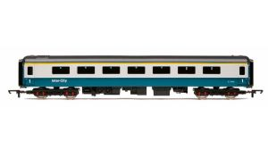Hornby R4807 BR Mark 2D 1st Open (FO), Blue/Grey Livery